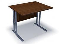 Стол прямой на металлокаркасе СП-1М