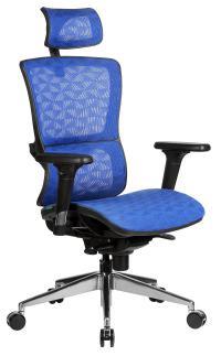 Кресло руководителя RIVA A8 (черный пластик)