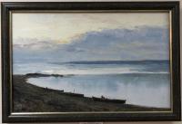 Картина Залив 64*41, холст масло Александр Варанкин