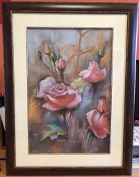 Картина Розы холст масло